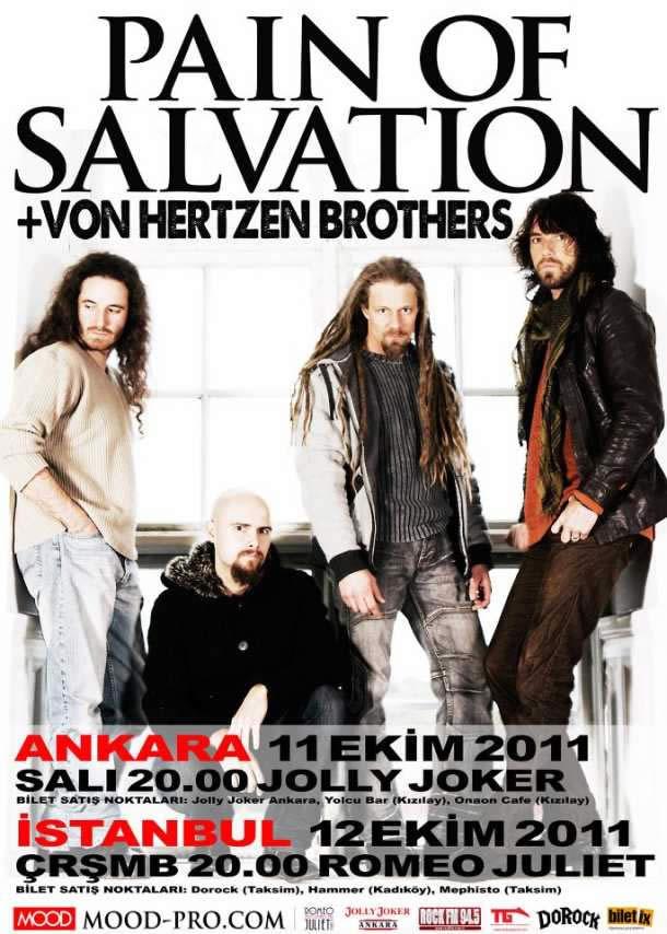 PAIN OF SALVATION & VON HERTZEN BROTHERS İstanbul Konseri