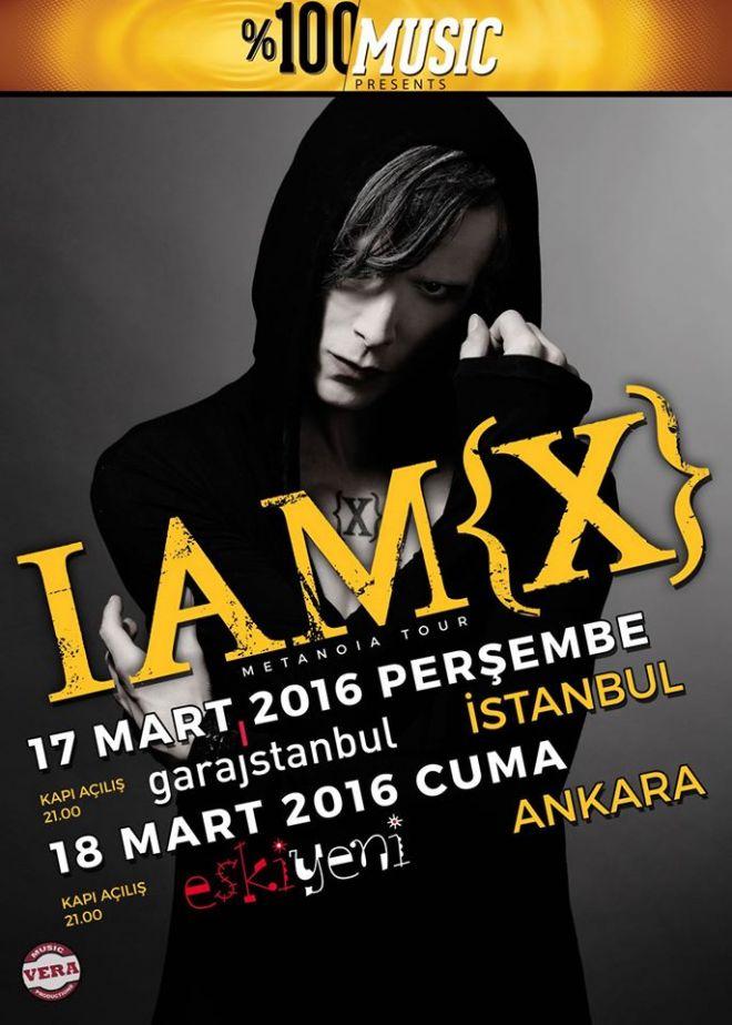 IAMX - İstanbul konseri - 17 Mart 2016