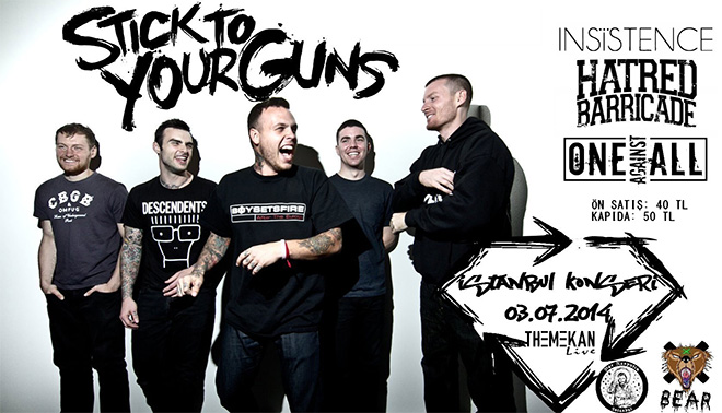 Stick To Your Guns konseri
