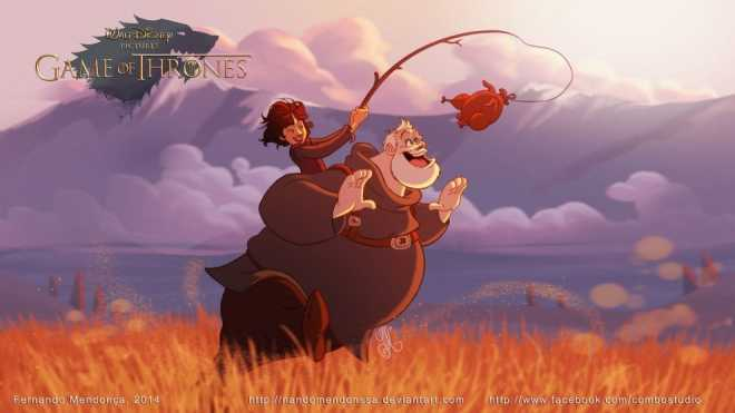 game of thrones walt disney (1)