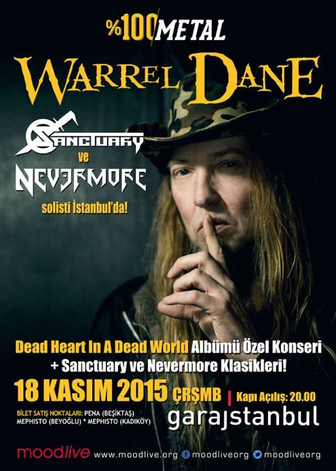 warrel dane konseri